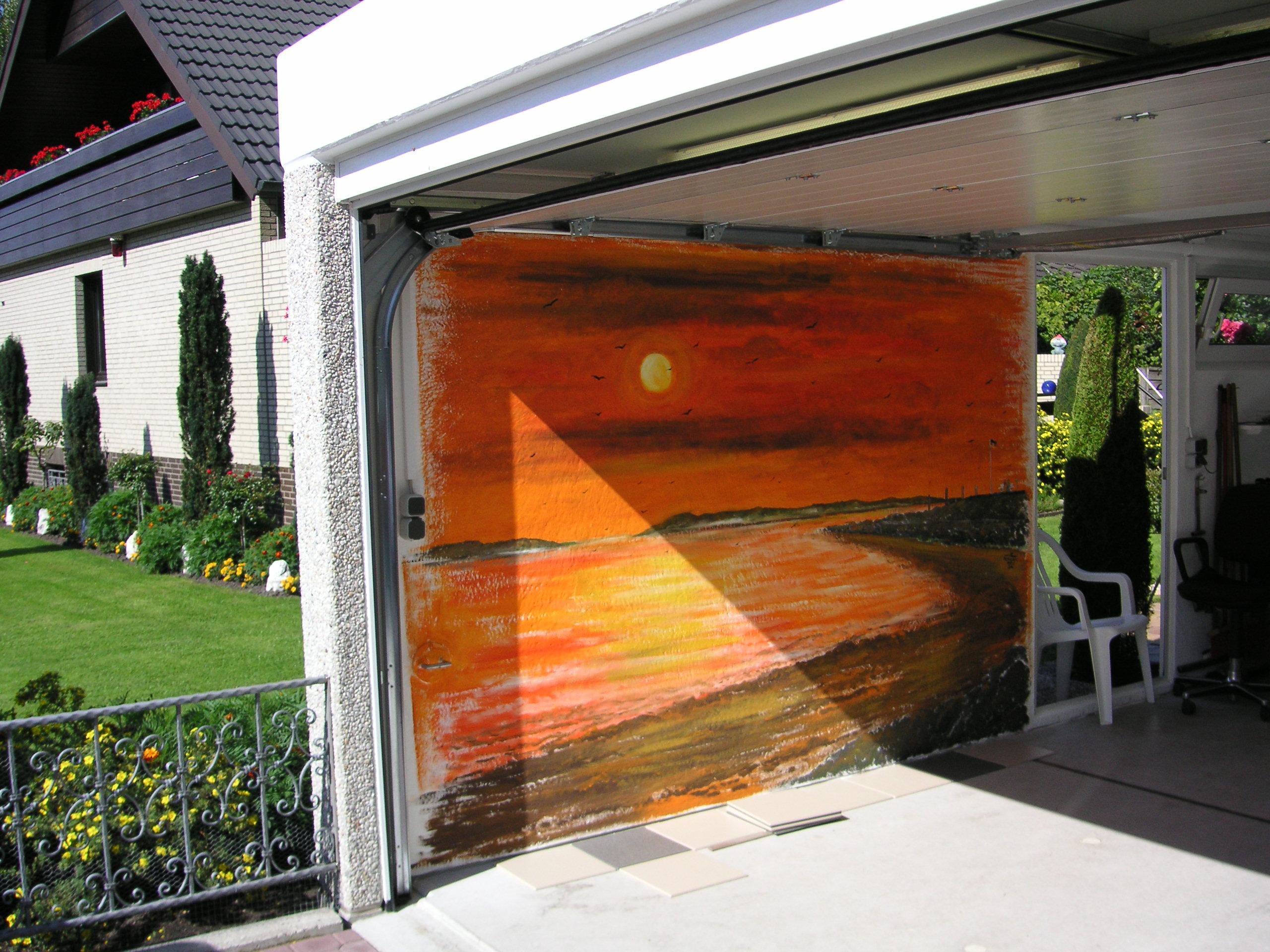 Garage der Familie Schnick in Hannover