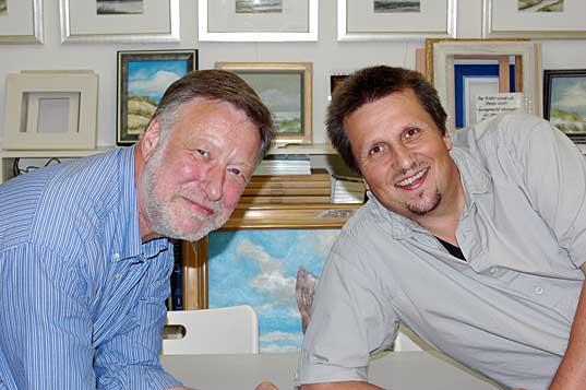 Maler HC Petersen & Autor Axel Schlote